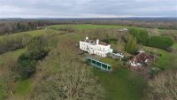 Country Estate Aerial Drone Photography