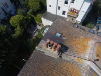 Drone Roof Survey of Chimney Pots