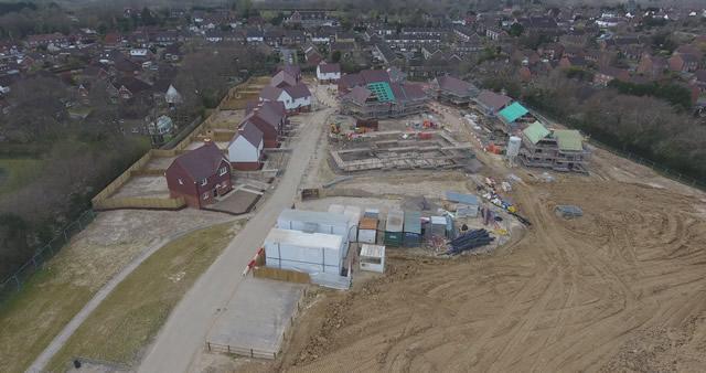 Commencement of Property Development Drone Photo April 2020