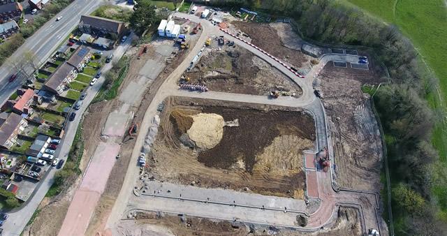 Start of Property Development Photo April 2020