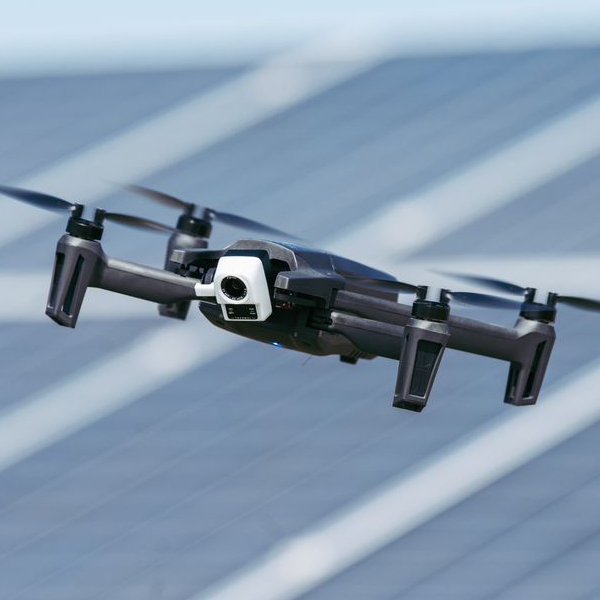 Close Up of a Parrot Anafi Drone