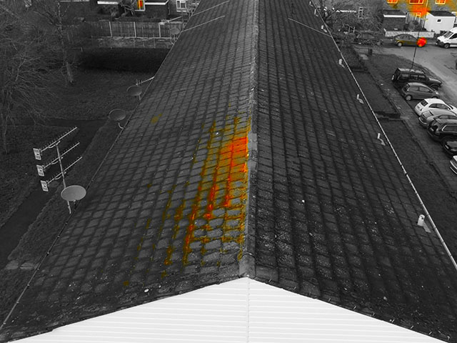 Thermal Imaging Drone Picture